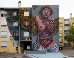 Violant - Visceral (VIOLANT3) Tags: street art portugal do urbanart quinta loures mocho violant muralism