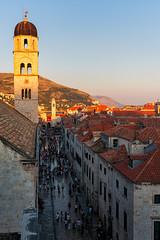 Medieval Gold - Croatia, Dubrovnik (Nomadic Vision Photography) Tags: travel summer mainstreet europe croatia unescoworldheritagesite touristattraction stradun jonreid tinareid nomadicvisioncom