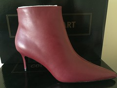 Colin Stuart Ankle Boots Red (Pointe Shoes Punk Rock And Purl Pix) Tags: leather ebay boots 1980s nib victoriassecret 1990s ankleboot midheel colinstuart