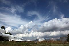 light clouds (tolisk9) Tags: sky clouds plane airport greece macedonia thessaloniki timeless makedonia