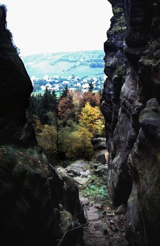 """Elbsandsteingebirge (113) Pfaffenstein Nadelöhr • <a style=""""font-size:0.8em;"""" href=""""http://www.flickr.com/photos/69570948@N04/22085830561/"""" target=""""_blank"""">View on Flickr</a>"""