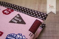 WA0049 Long Wallet (islyly) Tags: long handmade wallet linen cotton waterproof ykk longwallet islyly