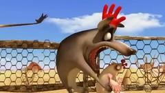 Harchie eat chicken (erwan_martin) Tags: chicken mouth maw eat animation hyena vore harchie prevore