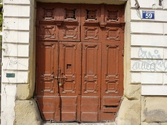 Krakov, dveře (15) (ladabar) Tags: door doorway kraków krakau krakov dveře