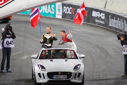 Team Nordic at The Race of Champions, Olympic Stadium, London, November 2015