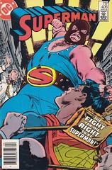 Superman 406 (micky the pixel) Tags: comics dc comic wrestling ringen superman heft