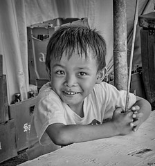Smiler (Beegee49) Tags: city boy smiling happy child philippines young grinning silay