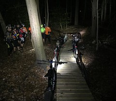 Thursday nights lights CCC addition, Good times! #weavercycleworks #custombicycles #ridethepines #mtb #29er