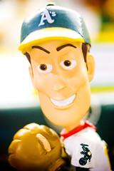 Woody (Thomas Hawk) Tags: california usa athletics unitedstates baseball unitedstatesofamerica woody eastbay bobblehead pleasanton alamedacountyfair oaklandathletics fav10 as