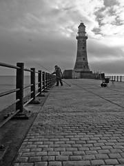 Fishing on Roker Pier (julia.h2013) Tags: infocus highquality