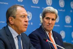 Secretary Kerry and Russian Foreign Minister Lavrov Address the Press (U.S. Department of State) Tags: newyorkcity russia un unitednations syria johnkerry sergeylavrov unsc staffandemistura