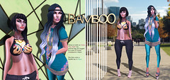 Bamboo - 02 (Venus Germanotta) Tags: city cute fashion pose blog clothing model fierce bamboo secondlife
