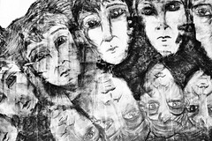 (formwandlah) Tags: kaiserslautern urban city noir dark strange melancholic melancholisch sureal bizarr skurril abstrakt abstract darkness light bw blackwhite black white sw monochrom high contrast ricoh gr pentax formwandlah thorsten prinz einfarbig surreal architecture architektur finsternis dramatic düster outdoor minimalismus schärfentiefe sad sadness fear paranoia pain schmerz life sorrow finster loneliness einsamkeit solitude textur rund kreis streetart graffiti depression melancholy melancholia melancholie flat