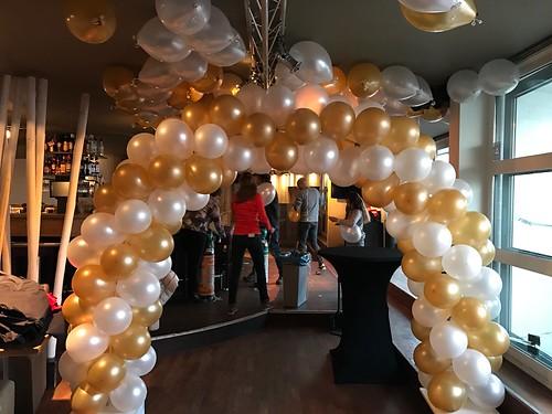 Ballonboog 5m Eau Lounge Rotterdam