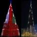 night facets of burj khalifa, dubai .......