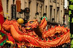 Liverpool Chinese New Year Celebrations (ianbonnell) Tags: liverpool chinesenewyear festival carnival celebration merseyside street urban streettheatre chinese dragon chinesedragon people
