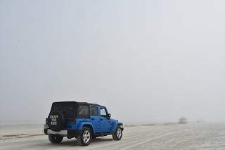 Enjoy the ride...heavy sea-fog on New Smyrna Beach