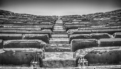 Stairway To Heaven (jen.ivana) Tags: black white day turkey side stairway theater lion paw steps