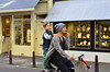 Hitching a ride (Colby Stopa) Tags: amsterdam netherlands travel layover europe colbystopa nikon nikond7000 street bicycle bicycles