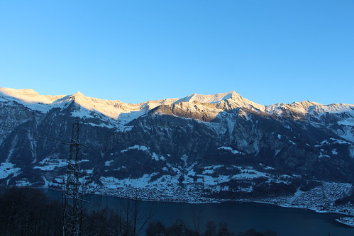 Lake Brienz and Alps