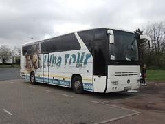 DSCN6030 Luna Tour, Cristeștii Ciceului BN 04YVH (Skillsbus) Tags: buses coaches austria romania lunatour mercedes tourismo