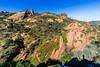 Red Rock Canyon, Topanga, CA ((Jessica)) Tags: rocks geology redrock redrockcanyon topanga topangacanyon losangeles losangelescounty lacounty california hiking hike climbing shadow landscape wideangle rokinon12mm rokinon sonya6000 sonyalpha sony a6000