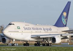 HZ-HM1C 747SP Saudi Arabian (Anhedral) Tags: hzhm1c boeing 747sp saudiarabian airliner shannonairport einn snn
