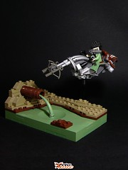 Honda C740 (ZetoVince) Tags: zeto vince greek lego speeder bike contest military dystopia waste land vast apoc