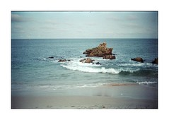 I don't think you understand what's going on, sir. (jean-christophe sartoris) Tags: jcsartoris sea summer bretagne analog blue landscape waterscape