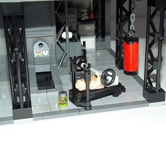 DSCF2248 (Nilbog Bricks) Tags: star wars lego moc minifigures stormtrooper base barracks