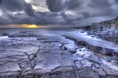 Into the void (pauldunn52) Tags: ogmore by sea cliffs rock platforms long exposure sunset moody great clouds