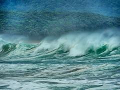 sml-fhdr-DSCN0193 (elphweb) Tags: roughseas roughsea ocean nsw australia sea water waves breakers storm coast coastal falsehdr fhdr bigwaves bigsurf surf foam mist