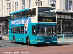 ARRIVA North West 3365 - S45 SNB (Cymru Coastliner) Tags: arrivanorthwest volvoolympian eastlancs 3365 s45snb bus southport merseyside bluebus
