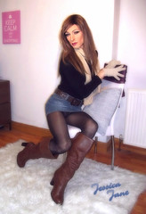 Upskirt Flirt (jessicajane9) Tags: cd tranny feminised trap skirt tights boots lgbt transvestite tgurl m2f boy2girl crossdressing gurl transgender tg trans tgirl xdress crossdresser tv