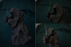 Nazgul by Marcos Nava (Nikita Vasiliev) Tags: origami paper paperart nazgul lotr lordoftherings ringwraith art shadow mordor film