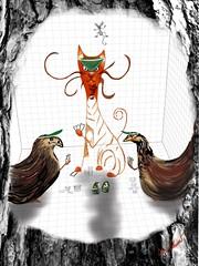 "Pre-dinner doodle. ""Midnight in the Barn"" iPad / Sketchbook Pro / Adonit Jot Touch (donnacoburn1) Tags: art public mobile digital cat mouse farm digitalart cartoon mobil poker doodle safe app ipad creativ sketchbookpro uniqueoriginal digitalartworks donnacoburn"