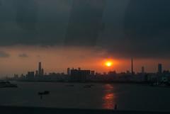 日落/Sunset in Motion (KAMEERU) Tags: guangzhou sunset skyline