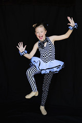 Topsy Turvy (lupe1515) Tags: dance costume olivia jazz recital topsyturvy