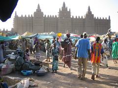 DJENNE GRAND MOSQUE+MARKET (revelinyourtime) Tags: market islam mosque mali cami djenne djennemosque