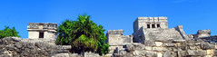 Maya city by the sea (A.F.Pretty) Tags: sea summer vacation love de mexico paradise tulum adventure yucatn caribbean peninsula zona roo quintanaroo quintana 2015 arqueologica yucatnpeninsula zonaarqueologicadetulum