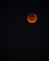 Super Moon Still Partially Eclipsed (mwbergeron01) Tags: moon eclipse supermoon