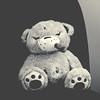 Wilson, the grumpiest bear (Paul J's) Tags: bear toy teddy plush kidrobot wilson kozik smorkin thegrumpiestbear