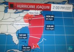 Sandy Repeat? (Random Retail) Tags: weather path hurricane joaquin 2015 hurricanejoaquin