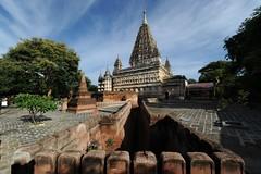 Mahabodhi Paya, Bagan, Myanmar D700 1591-1 (tango-) Tags: burma pagan bagan birman birmania  mahabodhitemple
