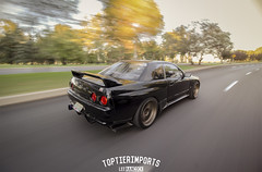 Garett Hilts R32 GTR (toptierlee) Tags: skyline canon nissan rolling gtr r32 nismo 10mm tti mypov rollingshot toptierimports justgoshoot nerdbotphotography nerdbotphoto