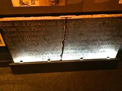 Blame the Catholics (Matt From London) Tags: london plaque fire catholic tablets museumoflondon blame greatfireoflondon