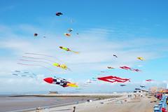 CTW2015 [10] (Ian R. Simpson) Tags: sky kite beach flying skies jetty kites lancashire rockets morecambe kitefestival stonejetty morecambebay catchthewind2015