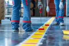 Coloriage Industriel / Industrial Colouring (SylvainMestre) Tags: red colour yellow jaune rouge paint industrial peinture couleur gse industriel coloriage snie wwwsylvainmestrecom briecomterobert77