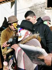 """Olevano sul Tusciano (SA), 2005, Il """"Carnevale dei Poveri"""": la sfilata dei dodici mesi. (Fiore S. Barbato) Tags: italy campania fiume carnevale salerno maschera monti muli recita asino maschere sfilata farsa mesi dodici asini olevanosultusciano poveri picentini rappresentazione olevano montipicentini tusciano carnevalesca"""