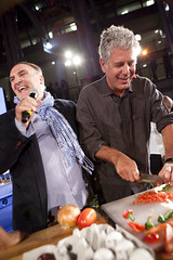 Jose Andres and Anthony Bourdain Entertain at the 2012 Capital Food Fight (DC Central Kitchen) Tags: anthonybourdain joseandres capitalfoodfight